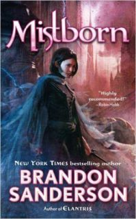 My 88th book review- 5 stars for fantasy book- Mistborn: The Final Empire by Brandon Sanderson  Over 100 books now.