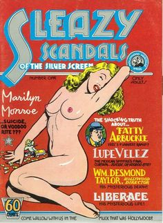 Cover for Sleazy Scandals of the Silver Screen (Cartoonists Co-Op Press, 1974 series) #1