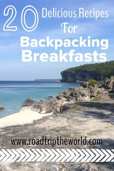Looking for ideas for backpacking breakfasts? Check out our list of favorite backpacking breakfasts that are both delicious and nutritious! Kayak Camping, Camping Meals, Camping Hacks, Camping Hammock, Camping Recipes, Travel Hacks, Travel Tips, Travel With Kids, Family Travel
