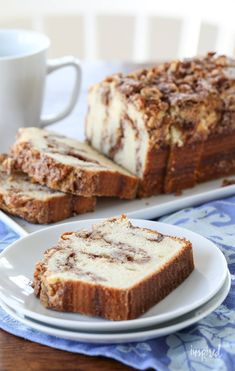 dessert recipes 24980972922066007 - Delicious and Easy Cinnamon Nut Quick Bread Source by inspiredbycharm Quick Bread Recipes, Gourmet Recipes, Baking Recipes, Cake Recipes, Dessert Recipes, Food Cakes, Cupcake Cakes, Cupcakes, Cake Cookies