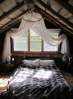 Un dormitorio en la buhardilla | Visioninteriorista.com