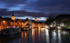 Amsterdam at Night wallpaper