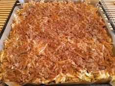 Prajitura lenesului – Sa Gatim cu Gina Lasagna, Macaroni And Cheese, Sweet Tooth, Bakery, Deserts, Dessert Recipes, Cooking Recipes, Sweets, Ethnic Recipes
