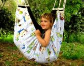 Baby Hammock And Indoor Swing By Zaza - Spain And Crimson - A Wonderful Place To…