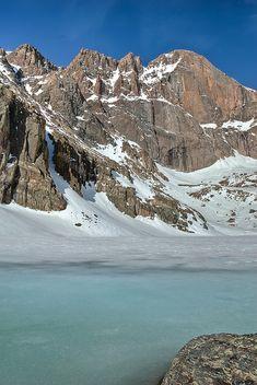 Turquoise - Chasm Lake - Rocky Mountain National Park - Colorado