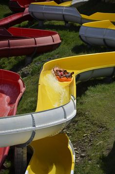 Riptide water slide gets a makeover at our Pocono Mountains water park! #ThisIsMyBeach