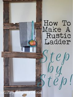 How to make a rustic