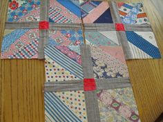 Vintage Quilt Blocks | eBay* this is similar to the Fons and Porter mag quilt I want to make