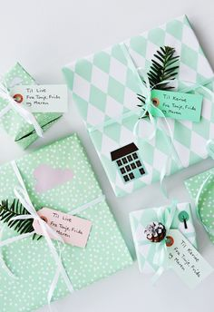 Go Mint | Community Post: 15 Stunning Gift Wrapping Ideas For The Minimalist In You