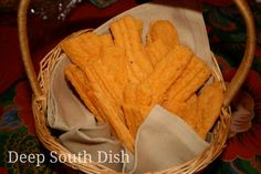 Deep South Dish: Southern Cheese Straws