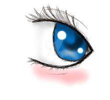 Blue Eye by ThaisMarino-Sensei