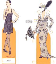 """Fashion Paper Dolls     Alexander McQueen, el """"Maestro de lo  fantástico"""" , ha estado otra vez en todos los titulares fashion una vez más..."""