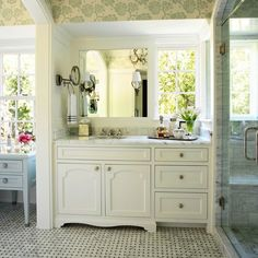 Bathroom remodel eye candy