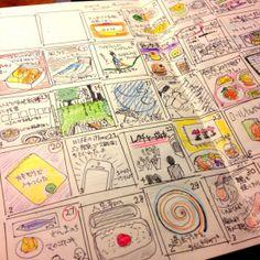 2014年の手帳は自作展開。(モレスキンのヴォラン、プレーンにて)   シンクアイデアズ SYNC-IDEAS