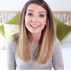 Zoella . Just love her new hair