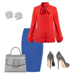 """""""Untitled #47"""" by sumely on Polyvore featuring WearAll, Racil, Gianvito Rossi, Boyy, Effy Jewelry and plus size clothing"""