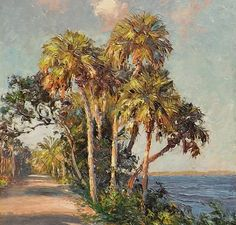 Artist A. Backus' Legacy Lives On Through Exhibition Featuring Works By Florida Highwaymen