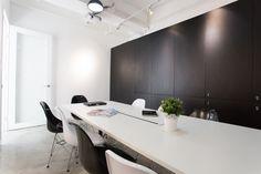 Sun Esee Model Management Interior design, commercial design, office design, conference room, black and white design, minimal design