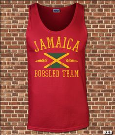 JAMAICA mens Tank Top all sizes available funny cool jamaican bobsled team olympic runnings trial vintage muscle tee UG497 by UnderGroundGear on Etsy https://www.etsy.com/listing/222212777/jamaica-mens-tank-top-all-sizes