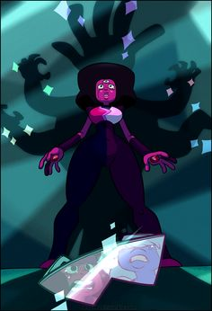 """rogmont:  A quick lil something for """"Keeping It Together"""" cause that episode won't leave me, guys. I need more overly emotional Garnet, please."""