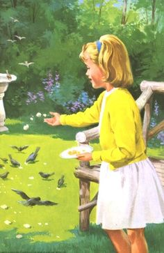 Jane feeds the birds - Peter And Jane, Reading With Sounds ..