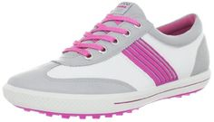ECCO Womens Golf Street Sport Golf ShoeConcreteWhiteCandy41 EU10105 M US -- Want to know more, click on the image.