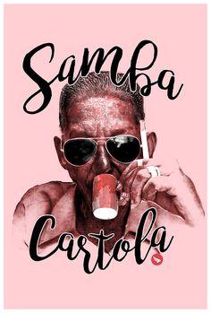 https://flic.kr/p/Mynm1H | Samba cartola Mito | Estampa criada para a mito com temática de samba