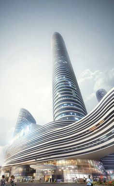Xuzhou Suning Plaza | Aedas | Architecture | Mixed-use | Xuzhou, PRC