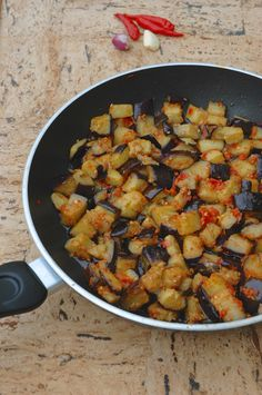 Indonesian Eggplant Chili Sauce - going to serve this with grilled swordfish
