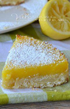 TTorta al lemon bars ricetta dolce