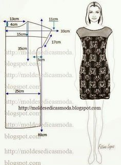 Amazing Sewing Patterns Clone Your Clothes Ideas. Enchanting Sewing Patterns Clone Your Clothes Ideas. Fashion Sewing, Diy Fashion, Ideias Fashion, Diy Clothing, Sewing Clothes, Dress Sewing Patterns, Clothing Patterns, Costura Fashion, Diy Kleidung