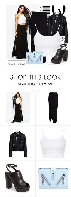 """""""Sin título #562"""" by lululafitte on Polyvore featuring moda, ASOS, Yves Saint Laurent, Topshop, Kenzo, Envi, American Eagle Outfitters, women's clothing, women y female"""
