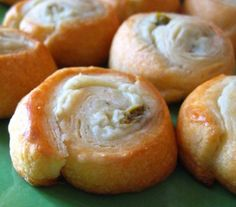 Yummy, yummy, and yummy! Only thing is it says one can makes 32. I made 16 and couldn't imagine cutting them smaller.  Jalapeno Cream Cheese Crescent Poppers - great party food!