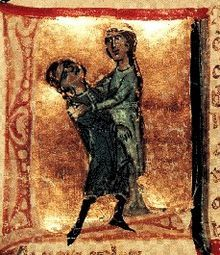 """Jaufre Rudel (Jaufré in modern Occitan) was the Prince of Blaye (Princes de Blaia) and a troubadour of the early–mid 12th century, who probably died during the Second Crusade, in or after 1147. He is noted for developing the theme of """"love from afar"""" (amor de lonh or amour de loin) in his songs."""