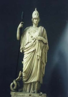 Athena (Roman - Minerva) - goddess of wisdom Greek Mythology