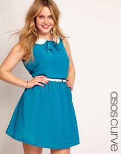 ASOS Peter Pan Collar Dress