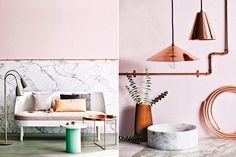 Pink and Copper