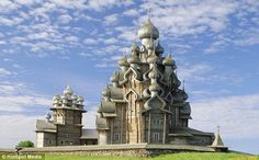 This impressive Kizhi Pogost church, on Kizhi island, west Russia, is not only the world's tallest entirely wooden building , but it is also more than 150 years old!