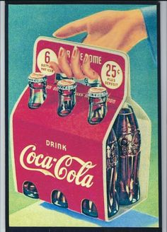 Coca-Cola is my favorite drink and therefore my favorite brand. I like this one particularly because it looks vintage and represents the fact that Coca Cola has always stated true to their brand. Coca Cola Drink, Cola Drinks, Coca Cola Ad, Always Coca Cola, Coca Cola Poster, Coke Ad, Retro Ads, Vintage Advertisements, Vintage Ads