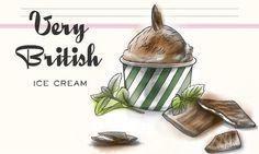 Very British Ice Cream - Schokoladeglace mit After Eights®