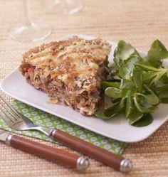 Tourte bretonne - galette de sarrasin aux lardons et oignons - Recettes de cuisine Ôdélices