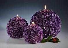 Gesneden candle - rose kaars - kerstcadeau - home decor - christmas candle - ongewone geschenken - Gift - bruiloft decoratie