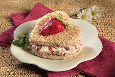 Sweet heart Sandwich