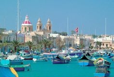 Grand Harbour, Malta. I love all the colorful boats, and spent hours photographing them.