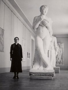 Rose Valland was a member of the French Resistance and an employee of the Jeu de Paume Museum in Paris. She kept records of the art plundered by Nazi officers and was instrumental in the post war return of countless stolen pieces. 1934.