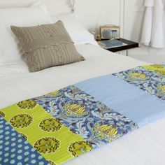 Want to learn how to make a bed runner? Follow Style at Home's step-by-step guide to making a bed runner. For more craft ideas, take a look at Housetohome's craft section