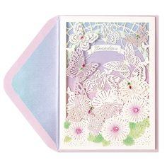 Laser-Cut Butterflies (For Grandma) Price $9.95