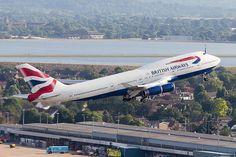 British Airways Boeing 747-400 G-BNLZ by LHR Local, via Flickr