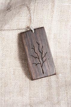Holz Baum-Anhänger
