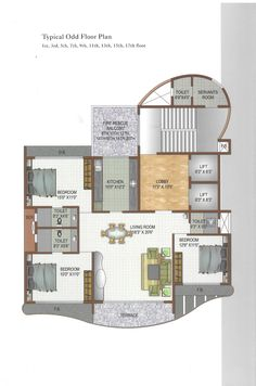 Typical odd floor plan